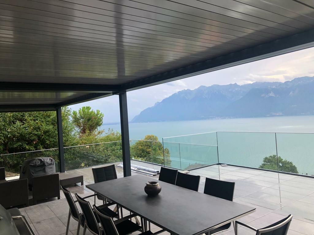 Balcon Terrasse Pergola Bioclimatique